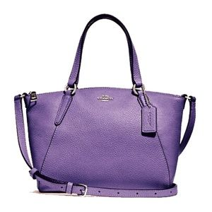 ✤ Coach Mini Kelsey Satchel